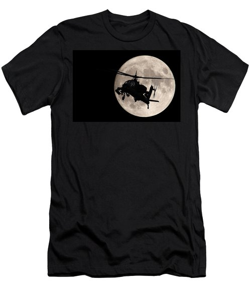 Apache In The Moonlight Men's T-Shirt (Athletic Fit)
