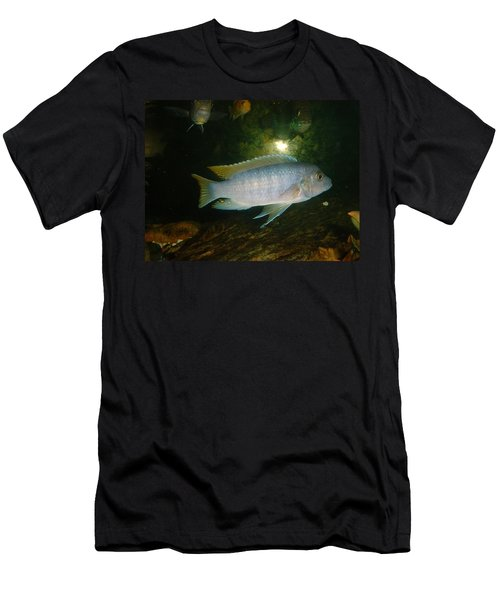 Men's T-Shirt (Slim Fit) featuring the photograph Aquarium Life by Bonfire Photography