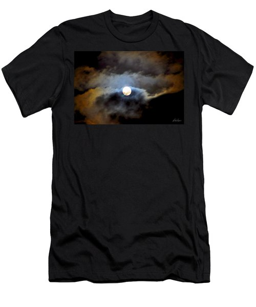 Aquarius Full Moon Men's T-Shirt (Athletic Fit)