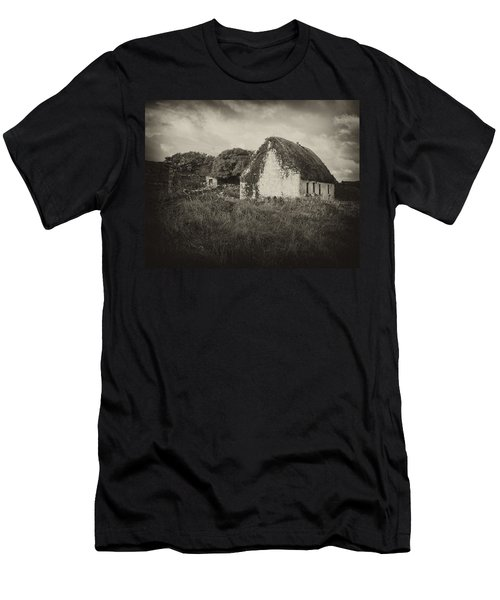 Men's T-Shirt (Slim Fit) featuring the photograph Aran Island Home by Hugh Smith