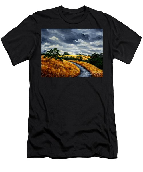 Arastradero Trail In Early Autumn Men's T-Shirt (Athletic Fit)