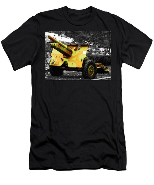 Men's T-Shirt (Slim Fit) featuring the photograph Artillery Piece by Blair Stuart