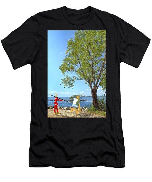 Artist's Art Men's T-Shirt (Athletic Fit)