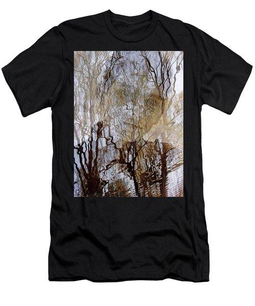 Asphalt - Portrait Of A Boy Men's T-Shirt (Athletic Fit)
