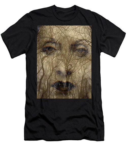 Asphalt - Portrait Of A Lady 2 Men's T-Shirt (Athletic Fit)
