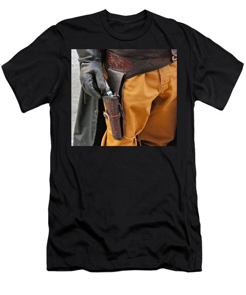 At The Ready Men's T-Shirt (Slim Fit) by Bill Owen