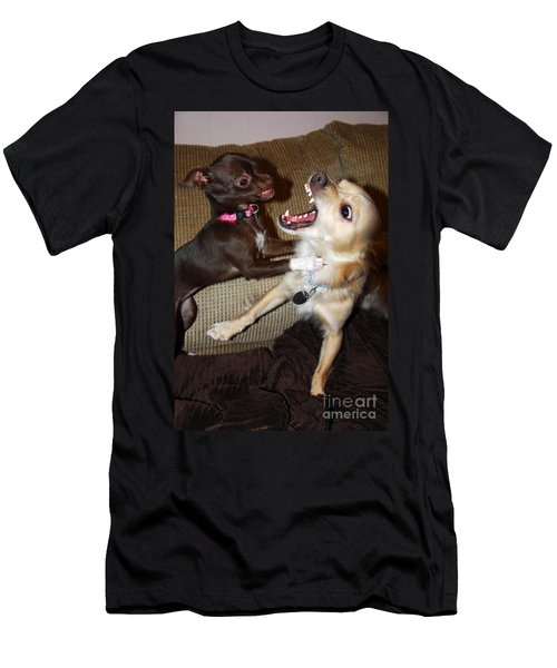 Attack Dogs Men's T-Shirt (Athletic Fit)