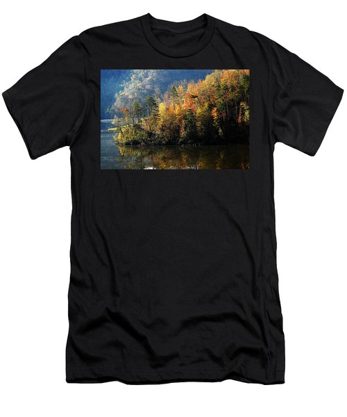 Autumn At Jenny Wiley Men's T-Shirt (Athletic Fit)