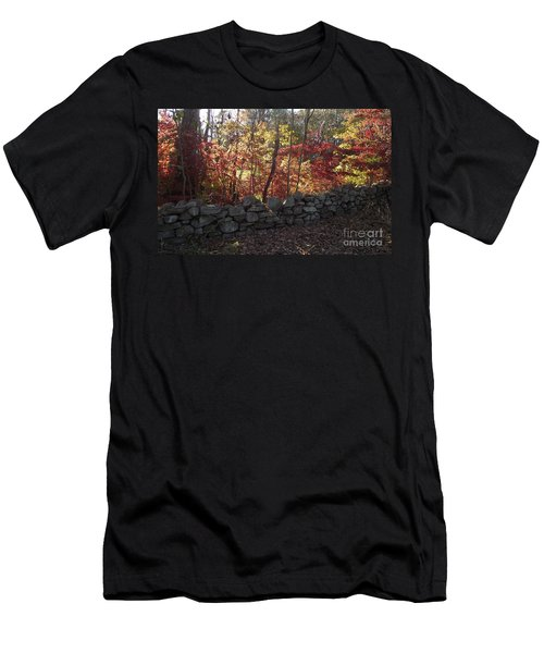 Autumn In New England Men's T-Shirt (Athletic Fit)