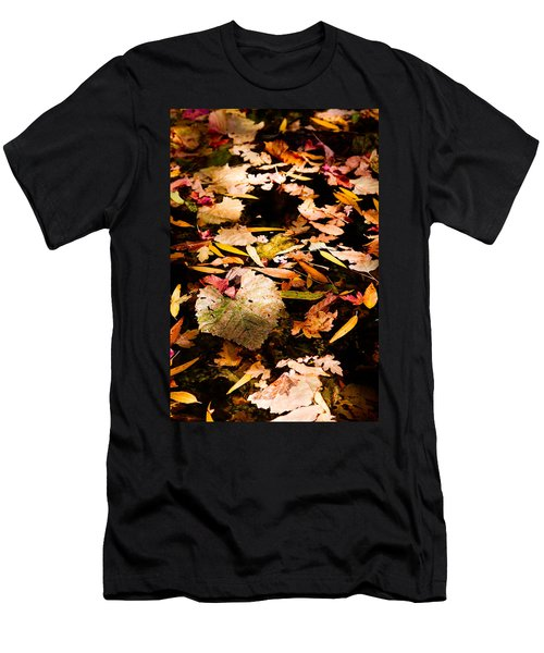 Autumn In Texas Men's T-Shirt (Athletic Fit)