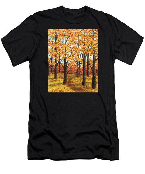 Autumn Meadow Men's T-Shirt (Athletic Fit)