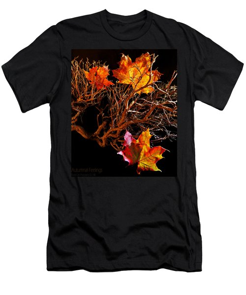 Autumnal Feelings Men's T-Shirt (Athletic Fit)