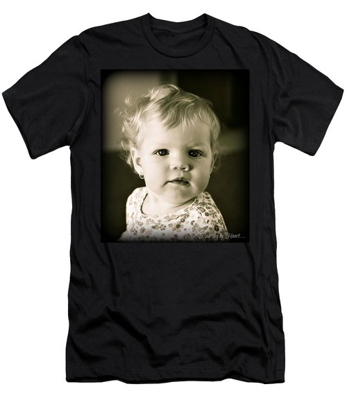 Men's T-Shirt (Athletic Fit) featuring the photograph Aydan by Deahn      Benware