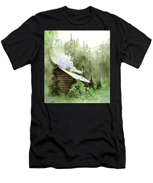 Backcountry Morning Men's T-Shirt (Athletic Fit)
