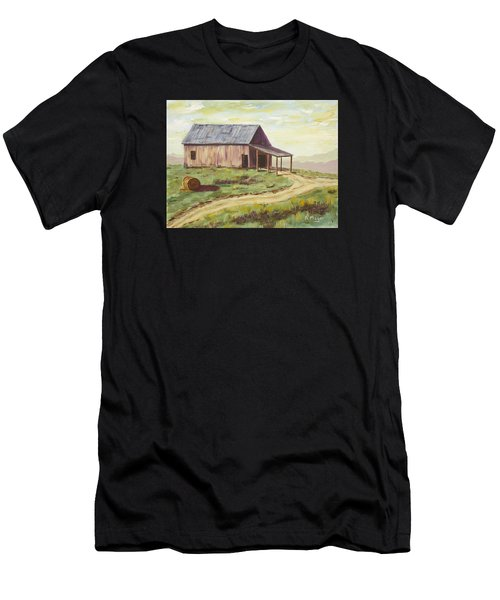 Barn On The Ridge Men's T-Shirt (Athletic Fit)