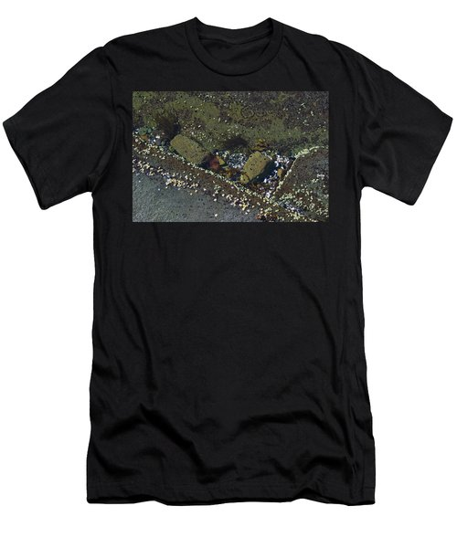 Barnacles And Rocks Men's T-Shirt (Athletic Fit)