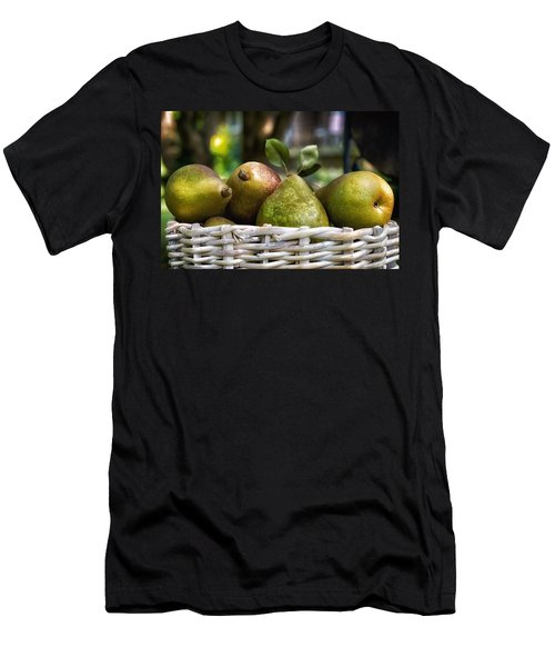 Basket Of Pears Men's T-Shirt (Athletic Fit)
