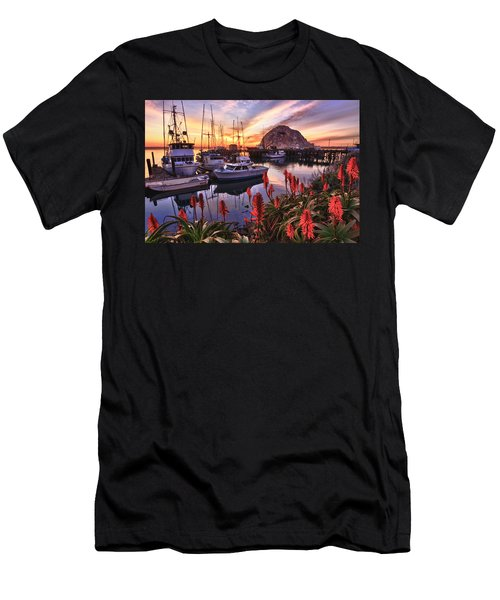 Beautiful Morro Bay Men's T-Shirt (Athletic Fit)