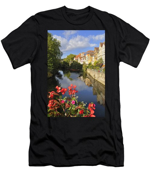 Beautiful Tuebingen In Germany Men's T-Shirt (Athletic Fit)