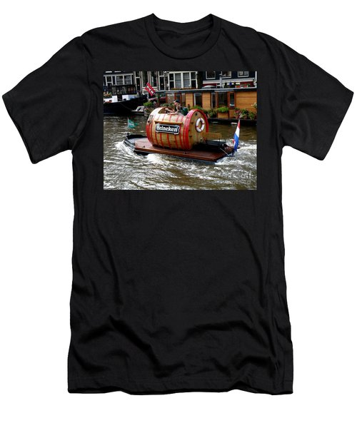Beer Boat Men's T-Shirt (Athletic Fit)