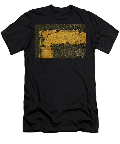 Behind The Yellow Line Men's T-Shirt (Athletic Fit)