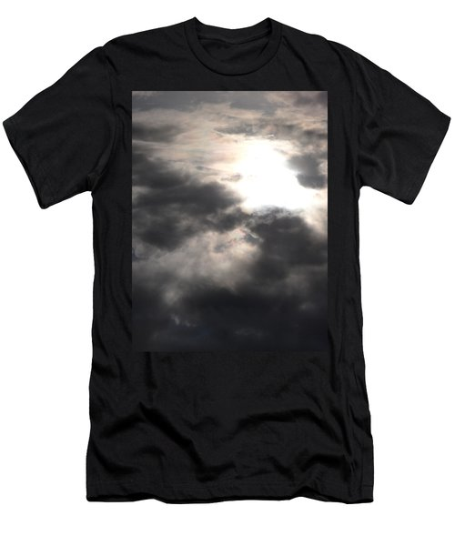 Beneath The Clouds Men's T-Shirt (Slim Fit) by James Barnes