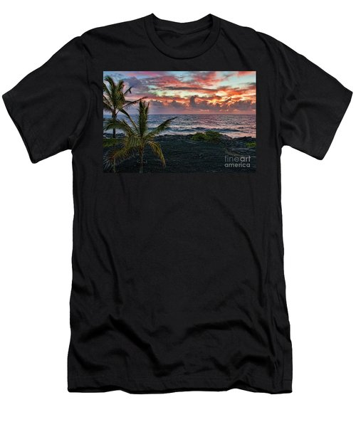Big Island Sunrise Men's T-Shirt (Athletic Fit)