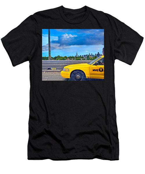 Big Yellow Taxi Men's T-Shirt (Athletic Fit)