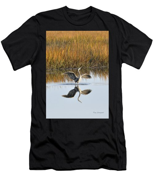 Bird Dance Men's T-Shirt (Athletic Fit)