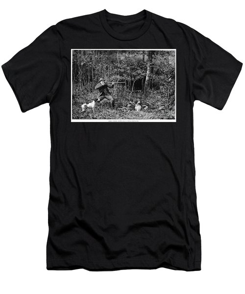 Bird Shooting, 1886 Men's T-Shirt (Athletic Fit)