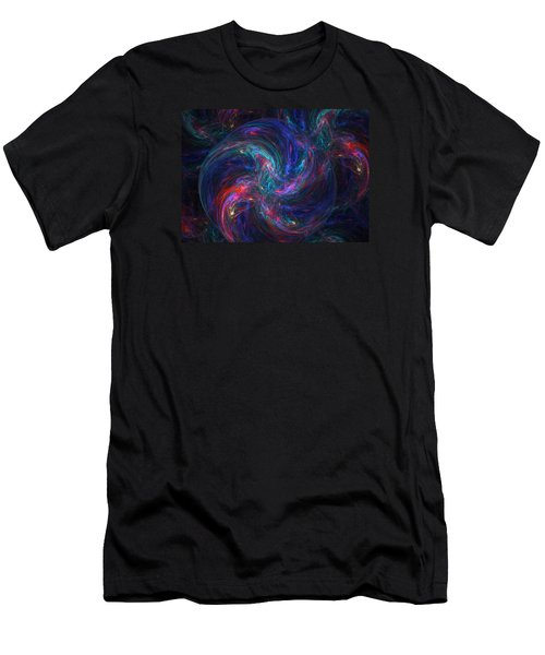 Birth Of A Galaxy Men's T-Shirt (Slim Fit) by Ann Peck