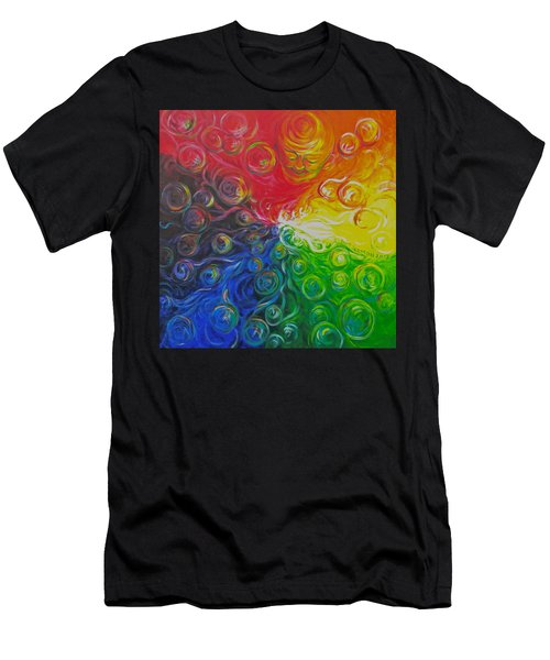 Birth Of Color Men's T-Shirt (Athletic Fit)
