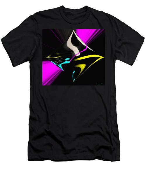 Men's T-Shirt (Slim Fit) featuring the photograph Black Diamond by George Pedro