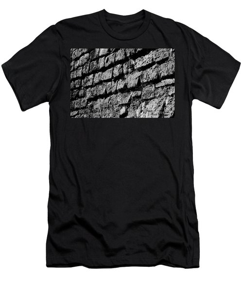 Black Wall Men's T-Shirt (Athletic Fit)