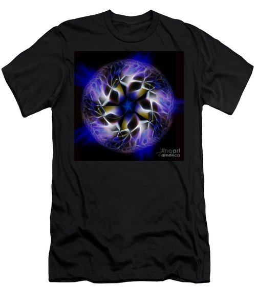 Blue Creation Men's T-Shirt (Slim Fit) by Danuta Bennett