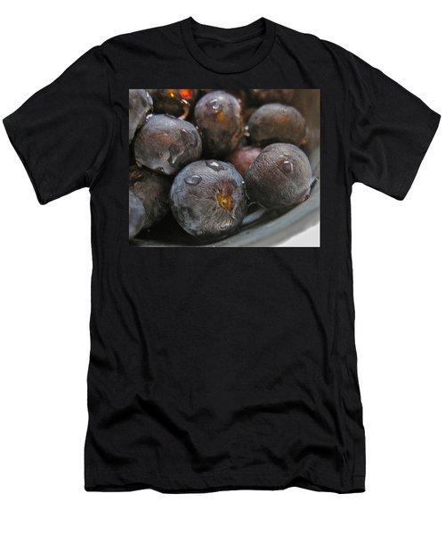 Blueberries  Men's T-Shirt (Slim Fit) by Bill Owen