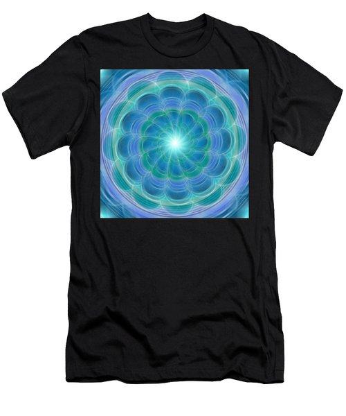 Bluefloraspin Men's T-Shirt (Athletic Fit)