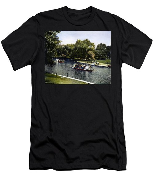 Boston: Swan Boats, C1900 Men's T-Shirt (Athletic Fit)