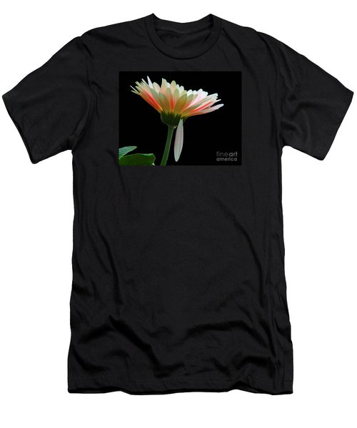 Men's T-Shirt (Slim Fit) featuring the photograph Broken Daisy by Cindy Manero