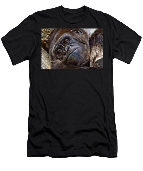 Brown Eyes Men's T-Shirt (Athletic Fit)