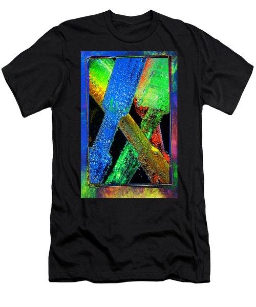Brushes Men's T-Shirt (Athletic Fit)