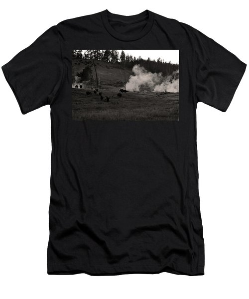 Buffalo Apocalypse  Men's T-Shirt (Athletic Fit)