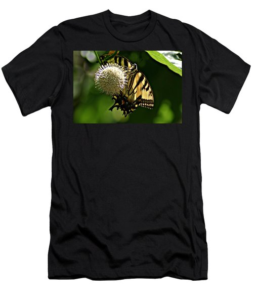 Butterfly 2 Men's T-Shirt (Slim Fit) by Joe Faherty