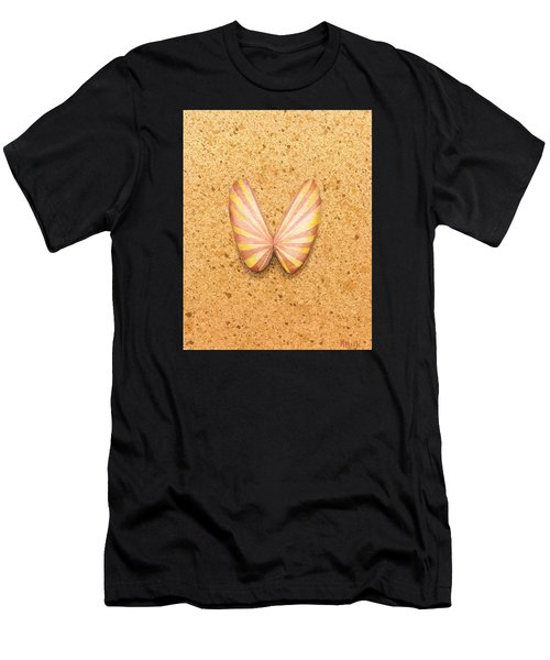 Butterfly Sea Shell Men's T-Shirt (Athletic Fit)