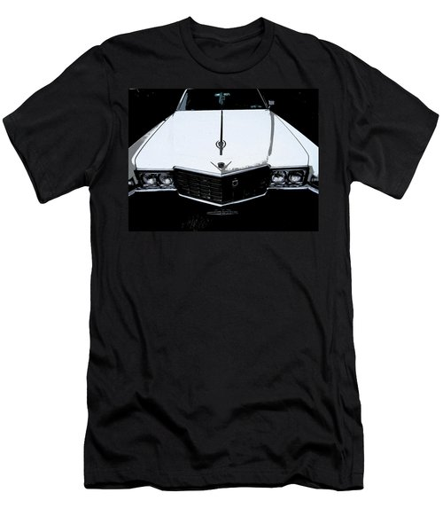 Men's T-Shirt (Slim Fit) featuring the photograph Cadillac Pimp Mobile by Kym Backland