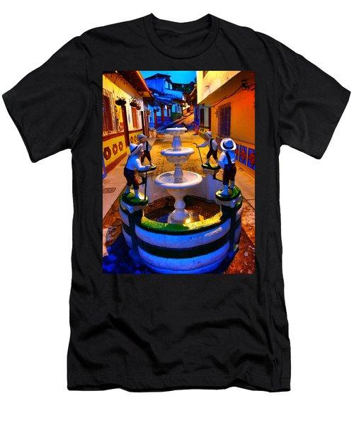 Calle Del Recuerdo Men's T-Shirt (Athletic Fit)