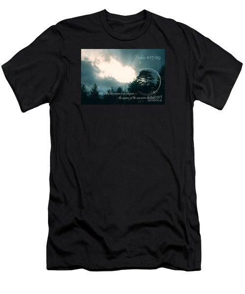 Calm The Storm Men's T-Shirt (Slim Fit) by Lena Auxier