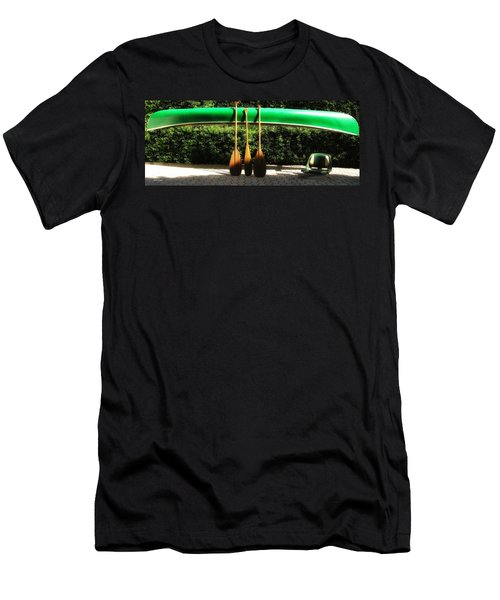 Men's T-Shirt (Slim Fit) featuring the photograph Canoe To Nowhere by Alec Drake