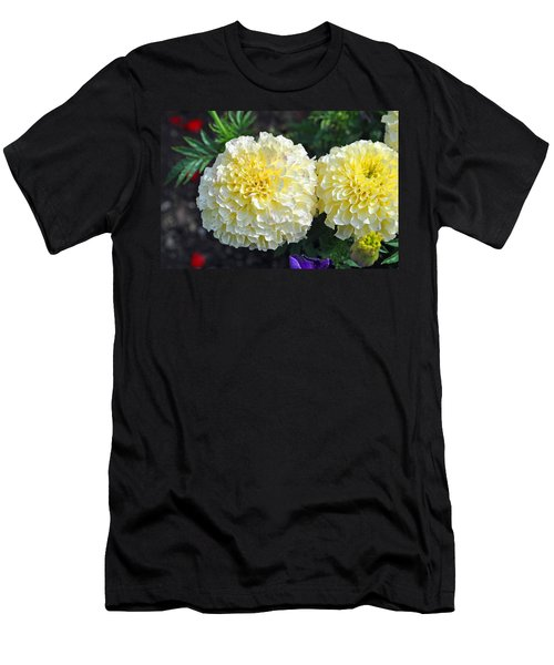 Men's T-Shirt (Slim Fit) featuring the photograph Carnations by Tikvah's Hope
