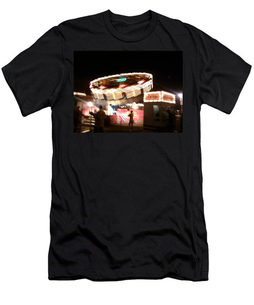 Men's T-Shirt (Slim Fit) featuring the photograph Carnival by Clara Sue Beym